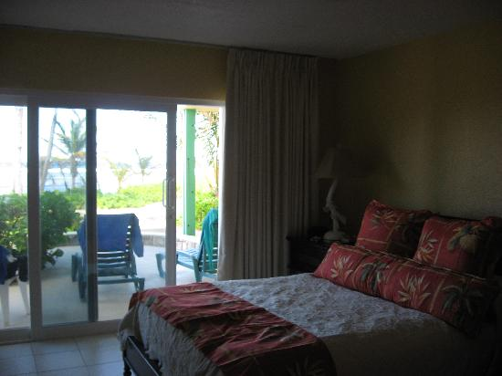 The Palms at Pelican Cove : Our room (From Inside)