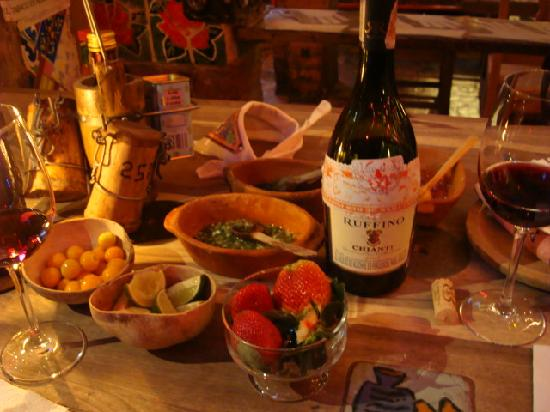 Andres Carne de Res: Great food and perfect wines