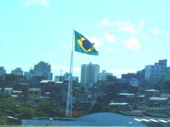 Salvador, BA: Brazil Flag