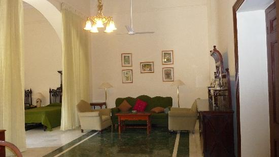 The Lallgarh Palace - A Heritage Palace Hotel: Pour prendre le thé