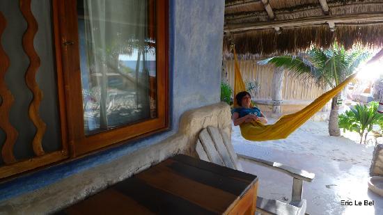 Hotel CalaLuna Tulum: Hamac