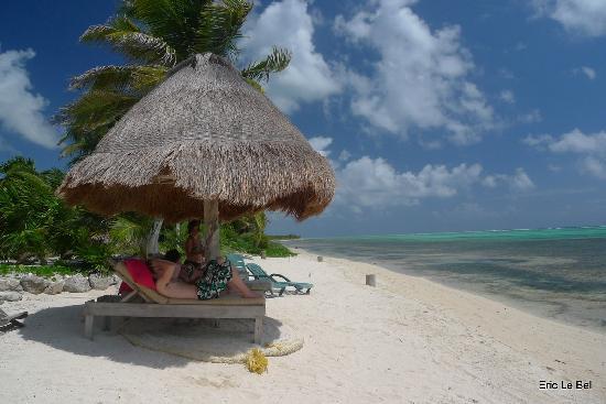Sin Duda Villas : Une plage magnifique