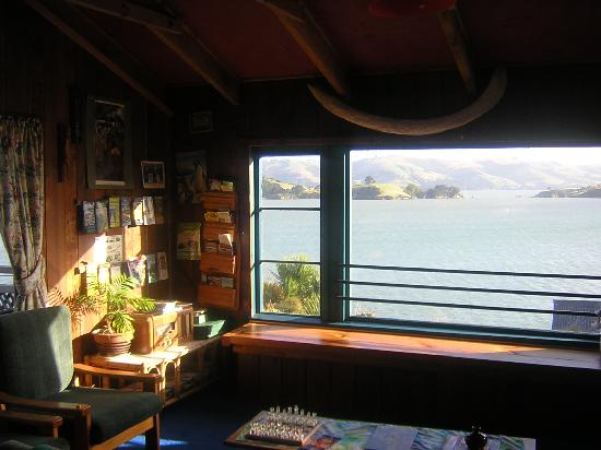 McFarmers Backpacker Lodge: View out of the window 2