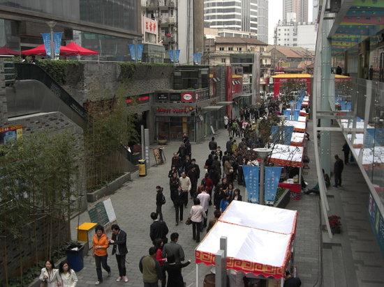 Shanghai Wujiang Road Entertainment Street: 美食街
