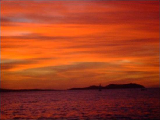 Cafe Del Mar : sunset