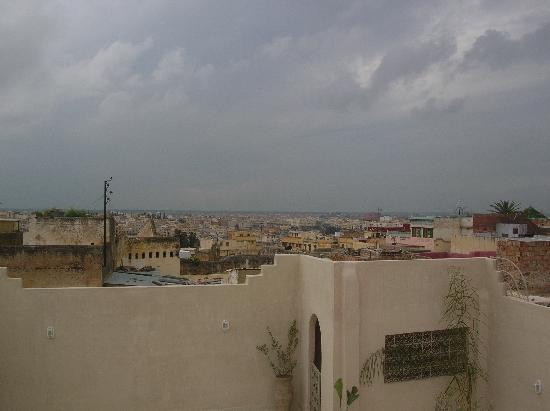 Riad Safir: vue de la medina