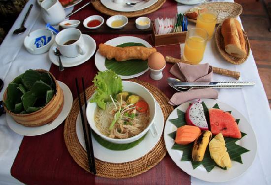 Bopha Siem Reap Boutique Hotel: 朝食