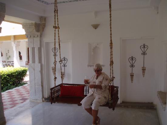 Sardargarh Heritage Hotel : TAKING IT EASY AS A MAHARANI