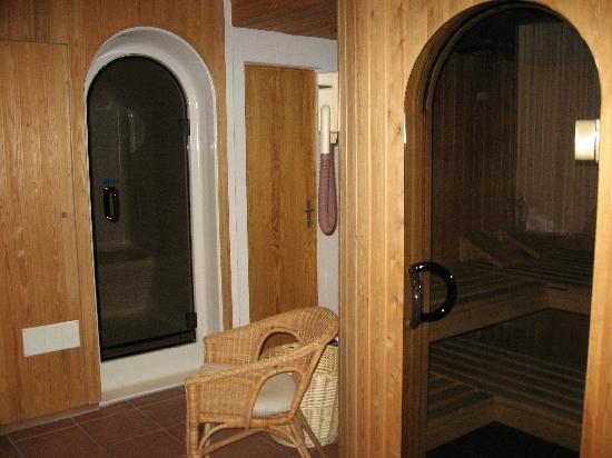 Hotel Bernina: Sauna