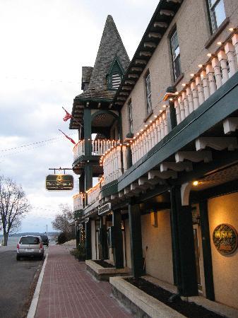 The Gananoque Inn and Spa: The Inn.