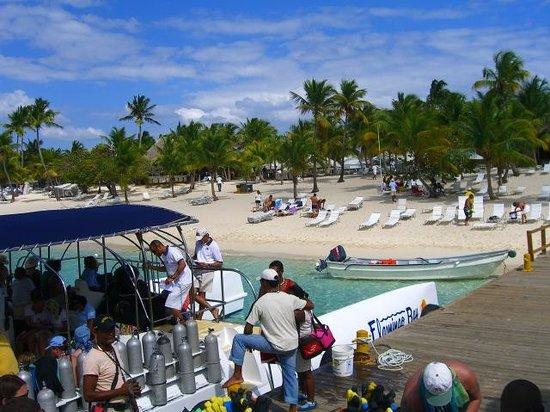 Talanquera Beach Resort: Leaving Catalina