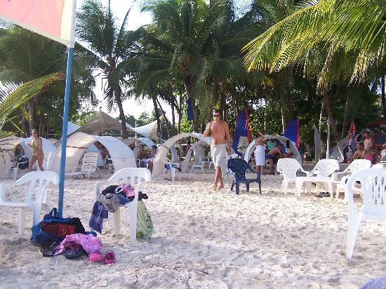 Sol Caribe Campo: La playa del hotel