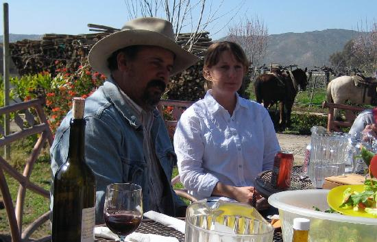 Baja Rancho La Bellota: Raul & Caroline Aguiar - our hosts