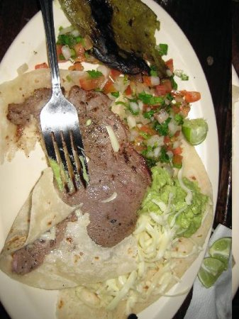 Baja Rancho La Bellota: dinner