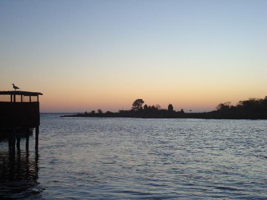 Crisfield, MD: Sunrise near Shanty - Ewell, Smith Island