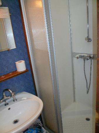 Hotel du Louvre: Shower