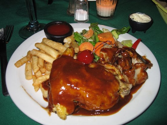 Cafe Bohemio: The cherry coke chicken and ribs!
