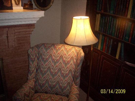 Walnut Street Inn: reading chair
