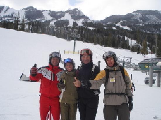 Auberge Kicking Horse B&B: une skieuse