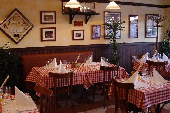 Charleroi, Belgique : restaurant