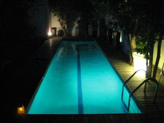 twentytwo: pool at night