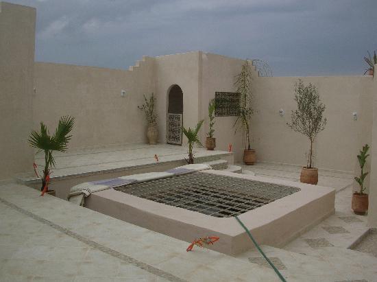 Riad Safir: encore une autre terrasse