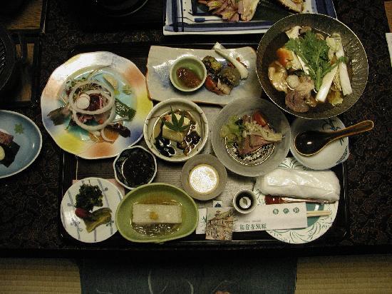 Notoya Ryokan: 岩魚の刺身付き、通常