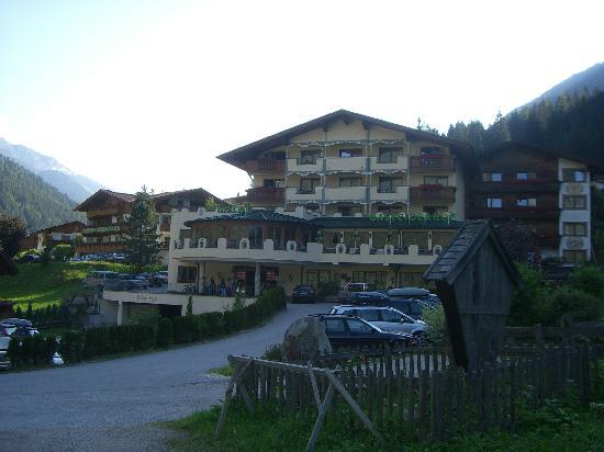 Gasteigerhof: Fachada del Hotel.