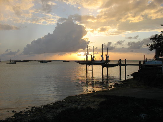 Staniel Cay: Sunset