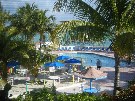 Blue Water Resort on Cable Beach: view from Blue Water condo