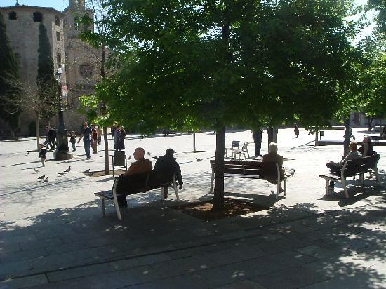 Marvelous Sant Cugat Del Vallès, España: Placa Octavia, Sant Cugat