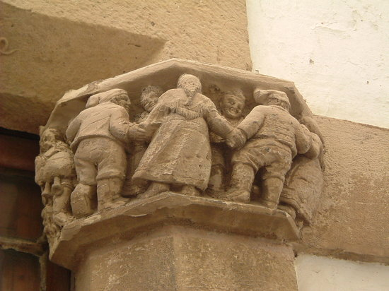 Sant Cugat del Valles, สเปน: Depiction of La Sardana