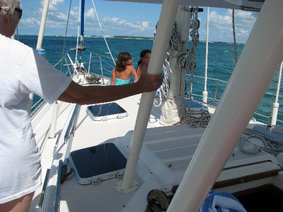 Key West Sailing Adventure: On the boat!