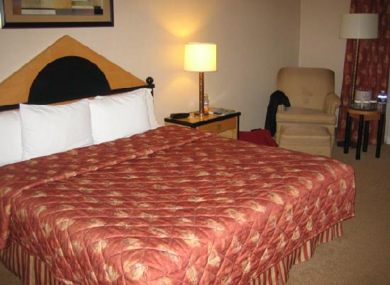 Holiday Inn Hotel & Suites Mississauga: Bed