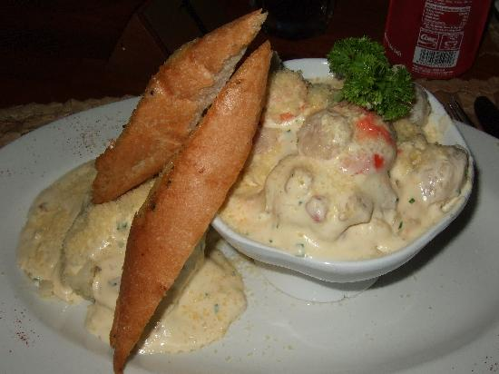 The Islander Restaurant: Ocean Seafood Chowder ($14.50)
