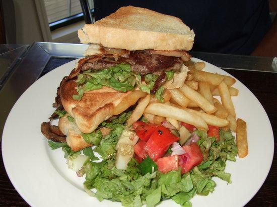 Koru Cafe: Koru Steak Sandwich ($19)