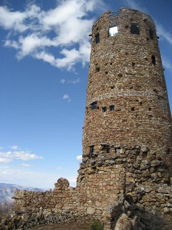 Grand Canyon Desert View Watchtower: loved the tower