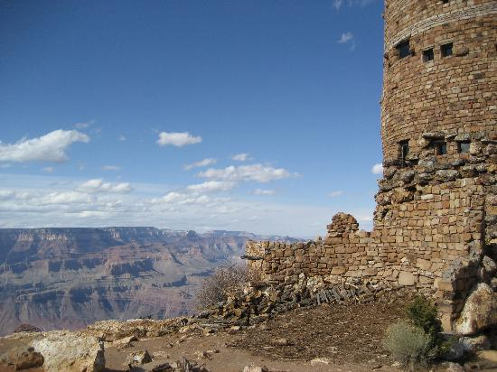 Grand Canyon Desert View Watchtower: cool view