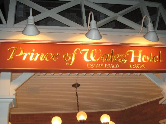 Prince of Wales: Sign