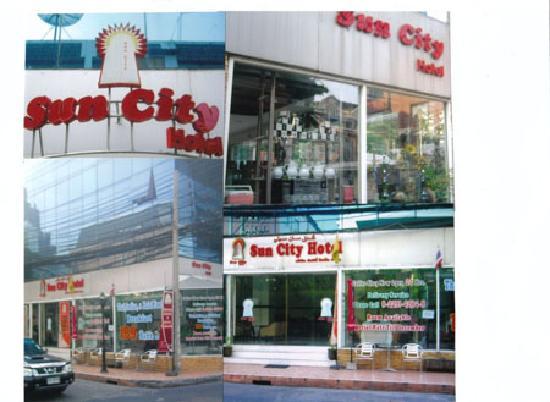 Suncity Hotel: Entrance