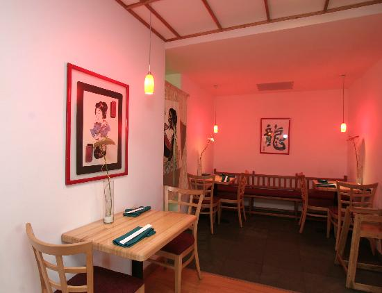 Umi Sushi Lounge: red room