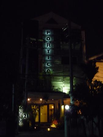 Night View of Portico 21