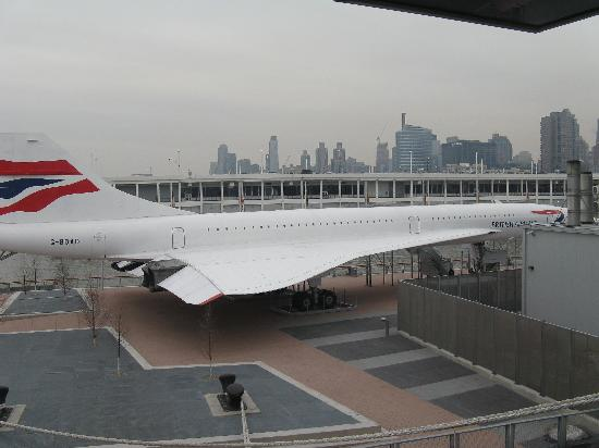 Intrepid Sea, Air & Space Museum : Le Concorde