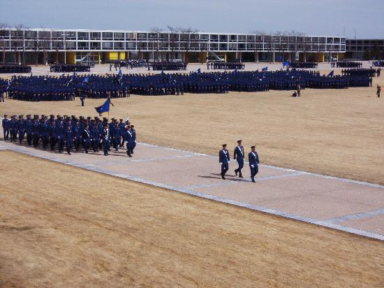 Best Western Plus Gateway Inn & Suites: Parade Ground Formation at Air Force Academy