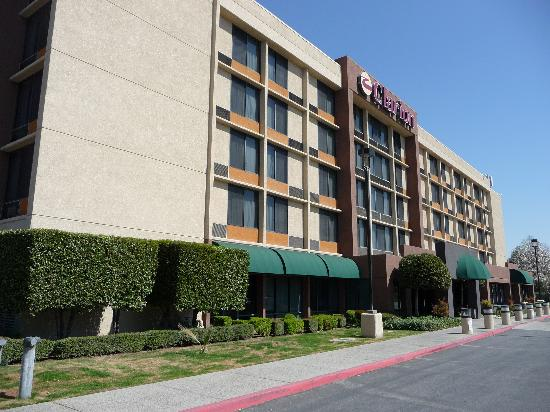 Clarion Hotel Front Side