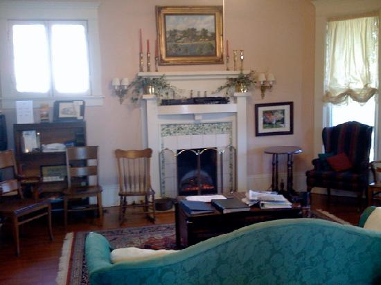 Katy House Bed and Breakfast: Fire Place