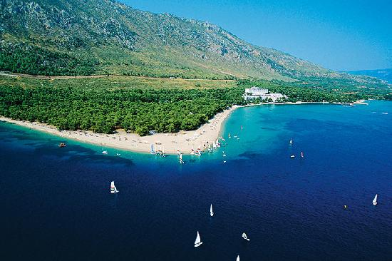 Euboea, Grecia: If you want a beach try this one....