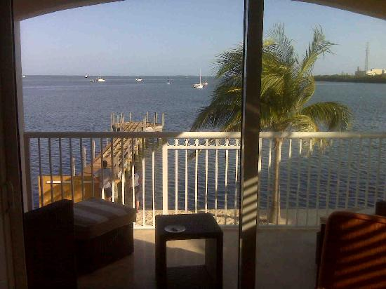 Key West Marriott Beachside Hotel: view from balcony