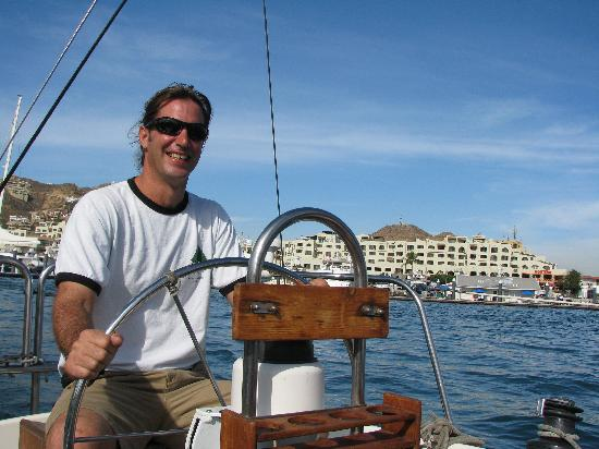 Cabo Sailing Ocean Adventures: Gil, owner of Cabo Sailing & great host