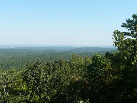Oak Mountain State Park: Top of the mountain